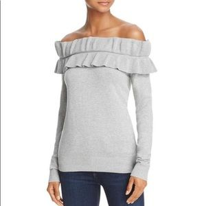 Endless Rose Off the Shoulder Knit Pullover